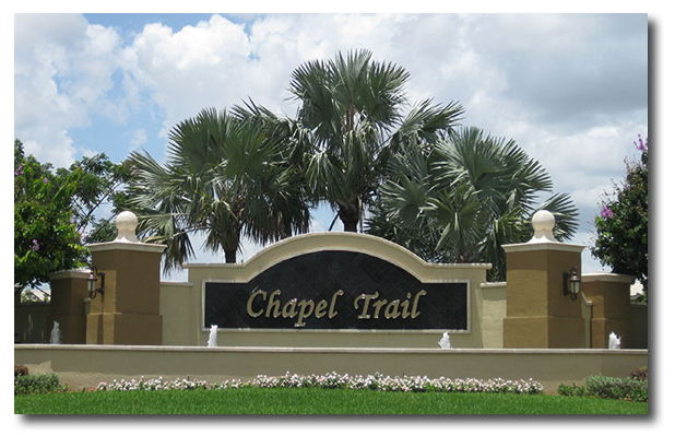 Chapel Trail Development Entrance