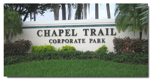 Chapel Trail Development Entrance